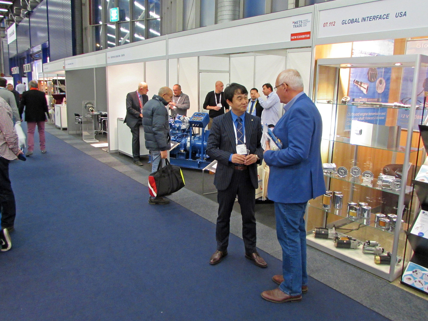 Great interest for Motortech's hybrid engines on this year's METSTRADE in Amsterdam