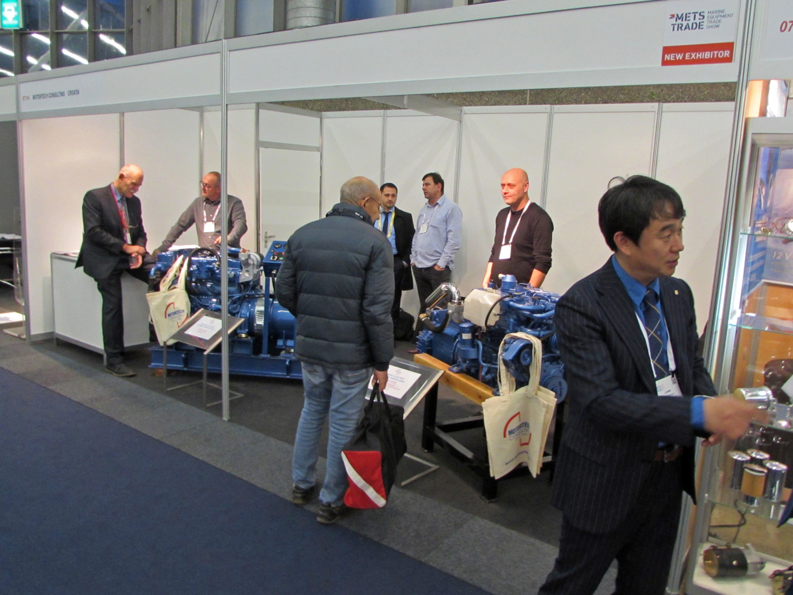 Motortech Consulting exhibits at jubilee 30th METSTRADE in Amsterdam